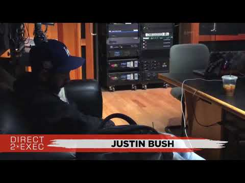 Justin bush Performs at Direct 2 Exec Los Angeles 3/4/18 - Dreamville Records