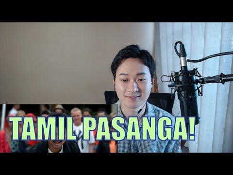 Tamil Pasanga Video Song Reaction│Korean Reaction│David Shin