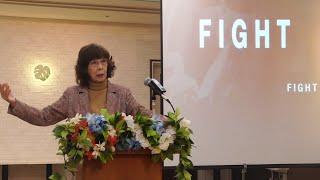Fight Vol 1~信仰の戦い・松澤富貴子牧師・ワードオブライフ横浜