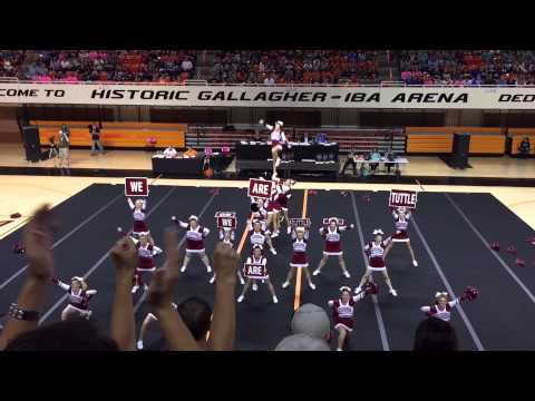 Tuttle High School - 2015 State Championship Cheer Routine