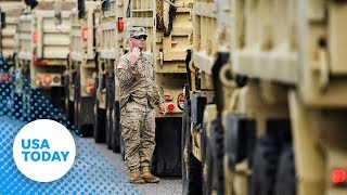 U.S. Army Corps of Engineers racing to build emergency dam in Conway, South Carolina.