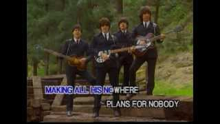 The Beatles - nowhere man ( clip subtitles )