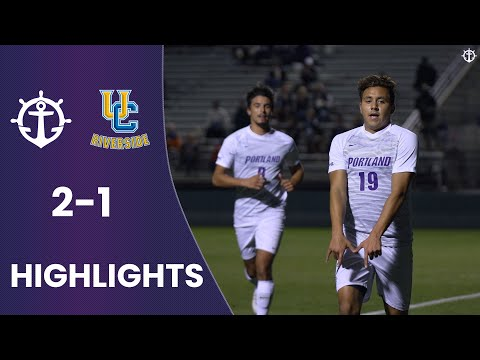 Men S Soccer Vs Uc Riverside 2 1 Highlights Youtube