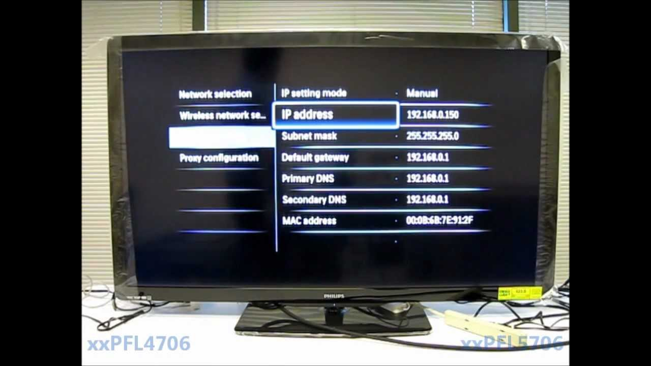 Philips 4706 and 5706 TV Series  YouTube