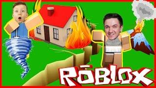Как ВЫЖИТЬ НА НЕОБИТАЕМОМ ОСТРОВЕ! Стихийные бедствия! Let's Play ROBLOX(Сеня с папой первый раз Играют в Роблокс ROBLOX! Мы пытаемся выжить на необитаемом острове среди стихийных..., 2017-01-26T12:37:32.000Z)