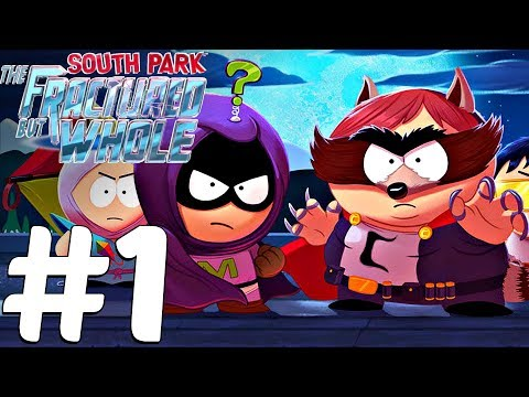 South Park The Fractured But Whole - Gameplay Walkthrough Part 1 - Hero Backstory & Coonstagram