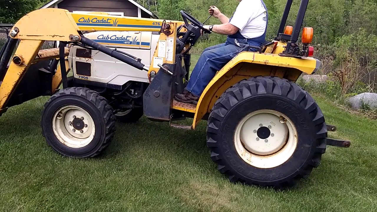 Before i bought the b7100 in 1995, i seriously considered a cub cadet because i had a cub cadet riding mower (lawn tractor) and it was a dandy. Cub Cadet 7305 Compact Utility Tractor Youtube
