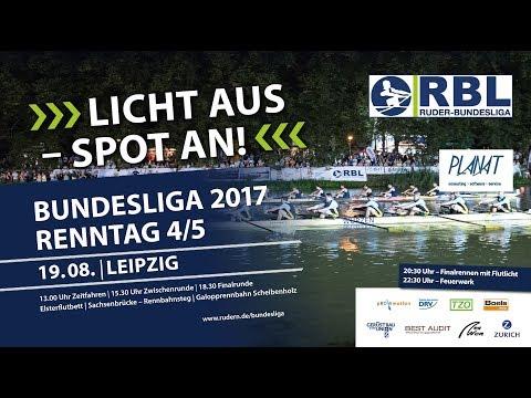 Ruder Bundesliga 2017 - Renntag in Leipzig: Halbfinals
