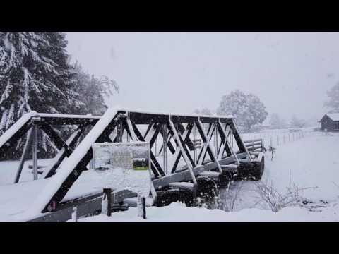 Big snow Ohakune July 2017