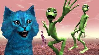 - СИМУЛЯТОР ЗЕЛЁНОГО ТАНЦУЮЩЕГО ИНОПЛАНЕТЯНИНА Scary Green Grandpa Alien Dame cosita Alien Dance