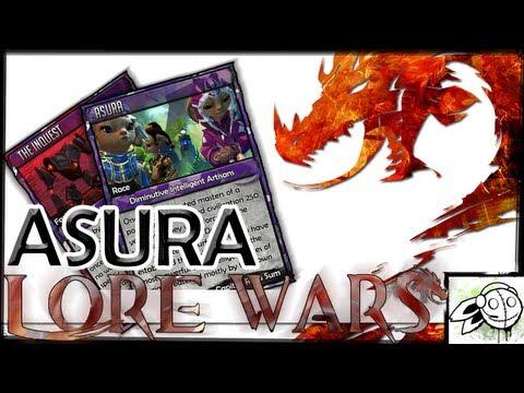 Lore Wars - Asura History & Inquest