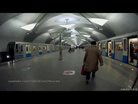Метро Новокосино, вход на станцию. 24.03.2018
