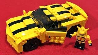 트랜스포머 범블비 자동차 쉐보레 카마로 GUDI 레고 호환 블럭 조립 리뷰 lego knockoff kre o transformers bumblebee car