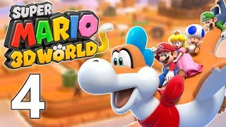 Super Mario 3D World FR - Monde 4 [4/8]