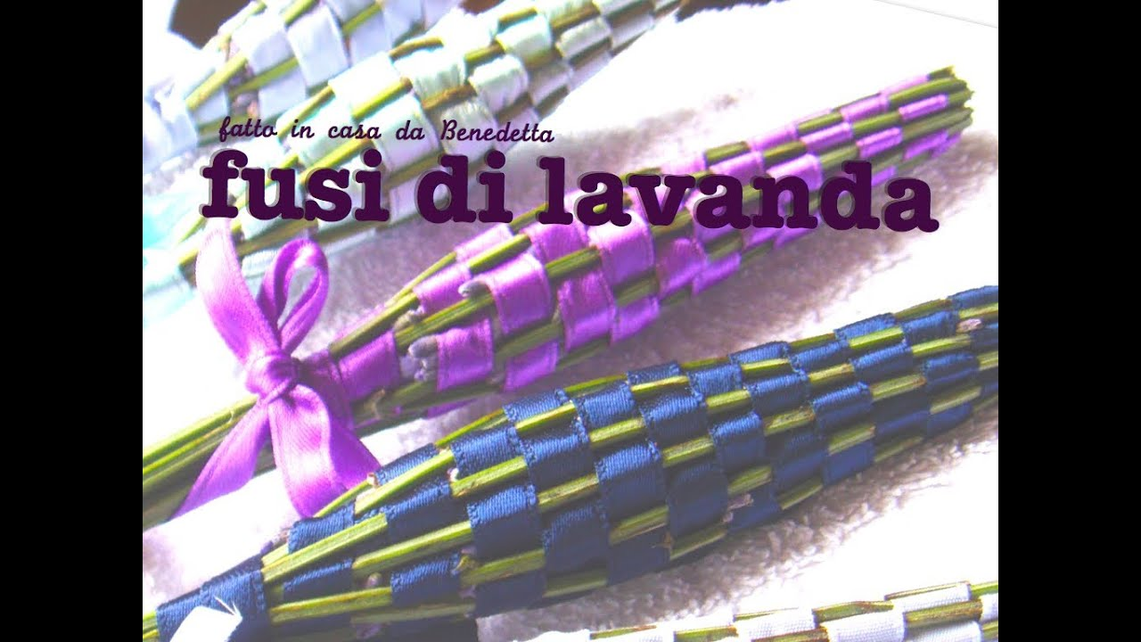 Ben noto FUSI DI LAVANDA PROFUMA BIANCHERIA FAI DA TE - YouTube QT57