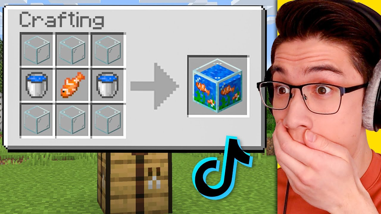 Download Testing Viral Minecraft Life Hacks That Are 100% Fact