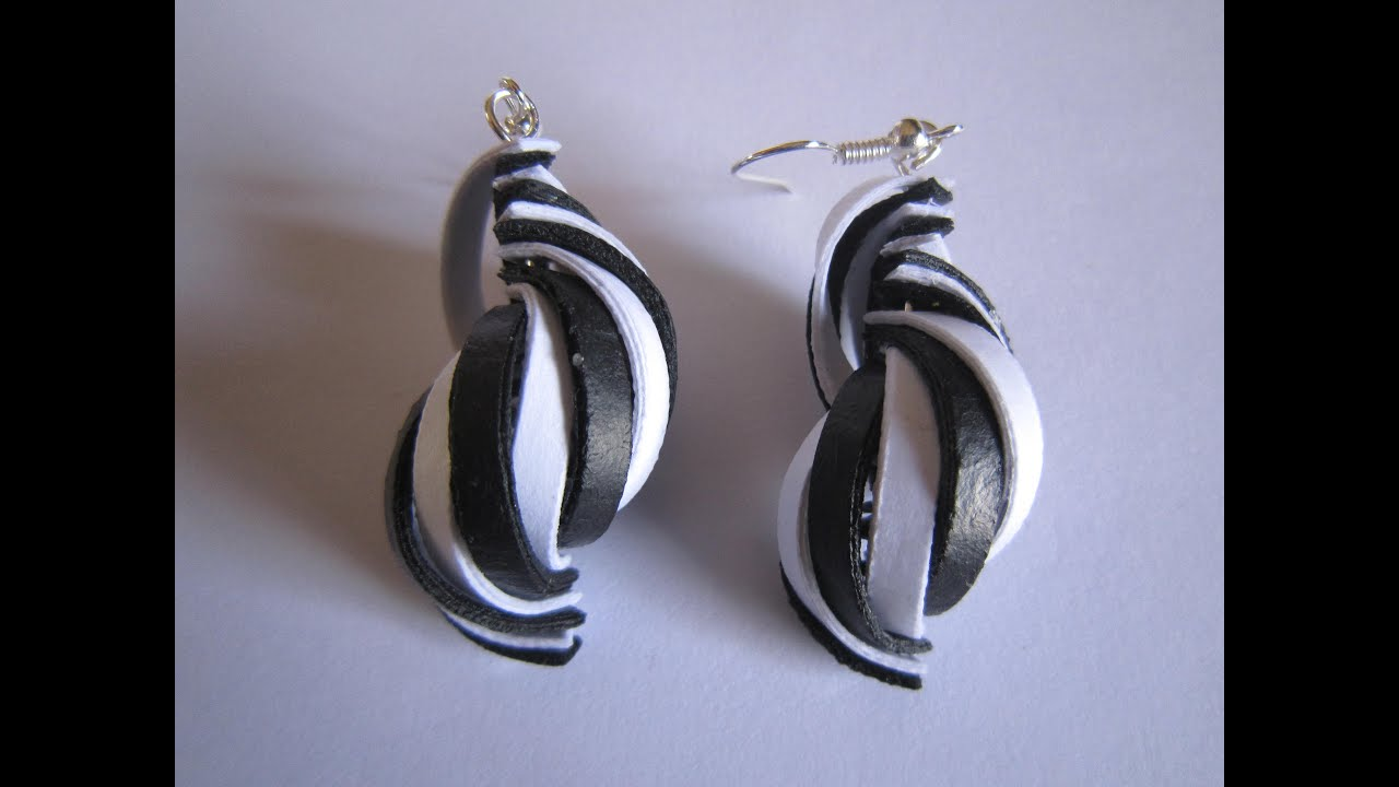 Latest Model quilling earrings - quilling papers earrings ...