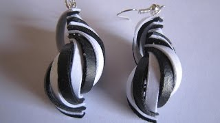 Latest Model quilling earrings - quilling papers earrings making