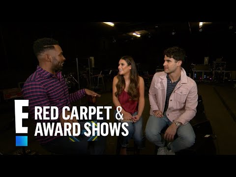 Lea Michele & Darren Criss Play Hilarious Game With E!  E! Red Carpet & Live Events
