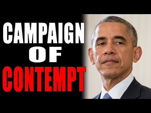 11-28-2020: Campaign of Contempt