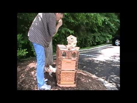 Eco Bee Box - Research Triangle Park, North Carolina.