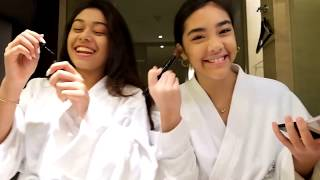 New Years Eve Makeup with QnA Baila Ft  Rayhana