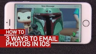 3 ways to email photos in iOS (CNET How To)