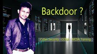 EP-22  What is Backdoor ? Backdoor क्या है ? Cyber security in Hindi?