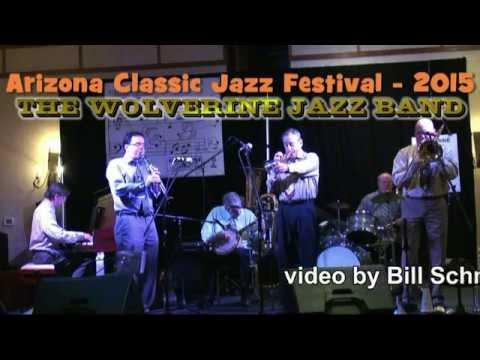 Phoenix 2015 Jazz Festival: Wolverine Jazz Band playing Over The Waves & Snookum