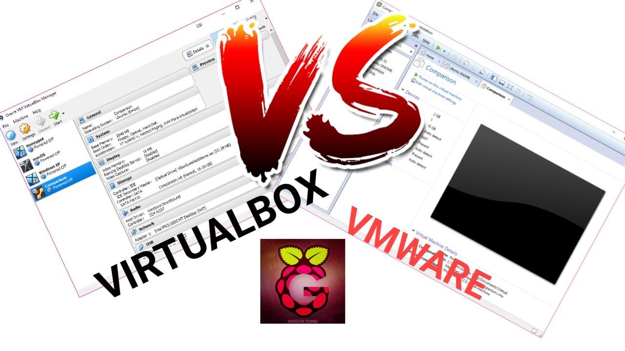 VirtualBox vs VMware - Speed comparison [HD]