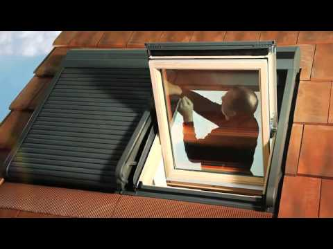 comment installer le volet roulant solaire ssl velux bricomarch youtube. Black Bedroom Furniture Sets. Home Design Ideas