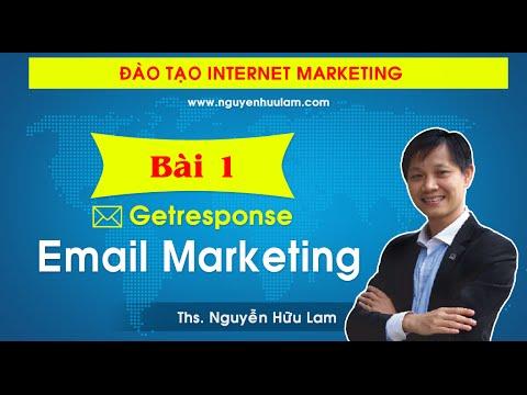 Hướng dẫn XÂY DỰNG hệ thống Email Marketing với Getresponse từ A - Z (FULL)