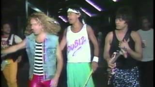 Van Halen INTERVIEW on NBC- monsters of rock tour 1988