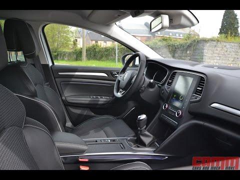 Présentation de l'habitacle de la Renault Mégane IV