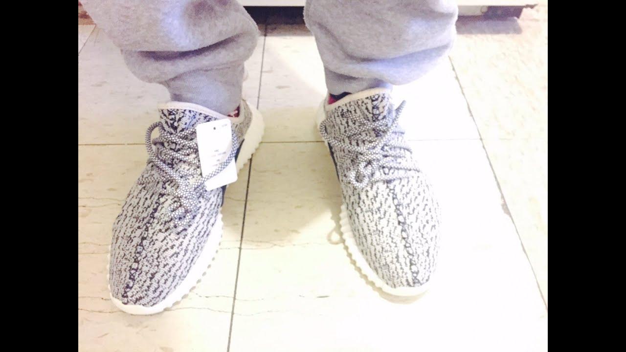 Adidas Yeezy On Feet