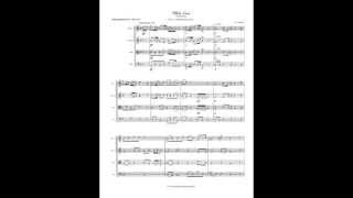 White Lace (Wedding Processional) - String Quartet Sheet Music - Wedding Music Processional
