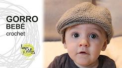 359a2a0c684d4 Boinas croche - YouTube