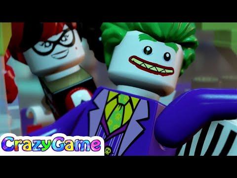 The #LEGO #Batman Movie (2017) Episode 1 - Batman, Robin, Batgirl vs Joker, Two Face, Poison Ivy