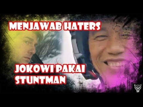Menjawab Kedunguan Haters, Sebut Jokowi Pakai Stuntman Waktu Atraksi Motor
