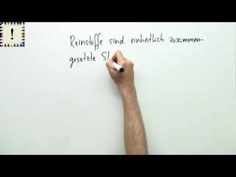 REINSTOFFE, HETEROGENE UND HOMOGENE GEMISCHE | Chemie - YouTube