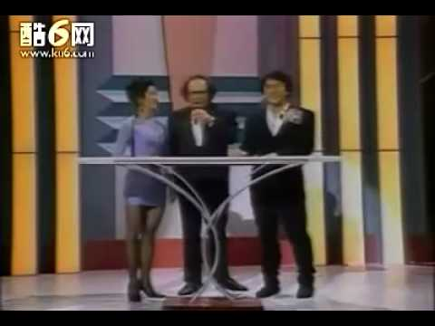 Jackie Chan and Michelle Yeoh presenting Action Choreography Award