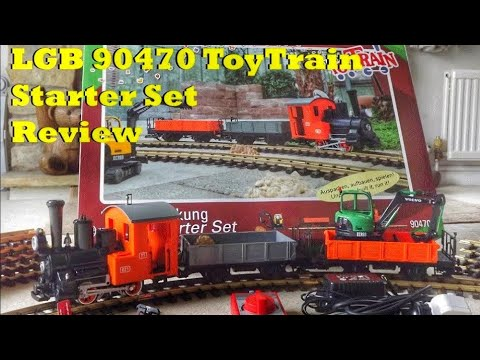 LGB 90470 ToyTrain Starter Set Review