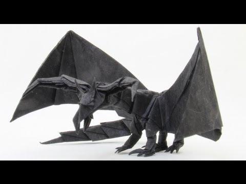 How to make an Origami Darkness Dragon 2.0 (Tadashi Mori)