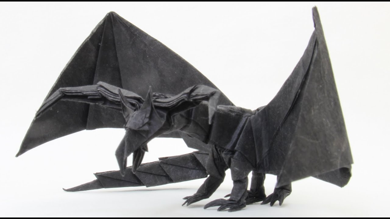 How To Make An Origami Darkness Dragon 20 Tadashi Mori
