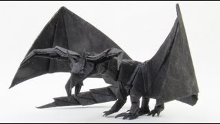 How to make an Origami Darkness Dragon 2.0 (Tadashi Mori)