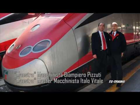 Roma T.ni-Napoli C.le cab-ride ETR500-27 Frecciarossa parte 1/4