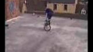 BMX flatland skills