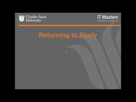 Lecture 1: Free Short Course - Preparing for University Study