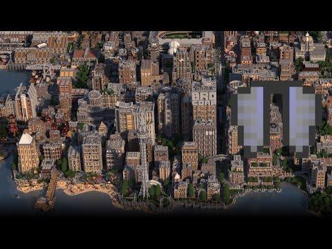 BROVILLE: Largest Minecraft City (Elytra Tour)