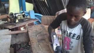 This Video Shows Carpentry Beneficiary Expressing His Feelings